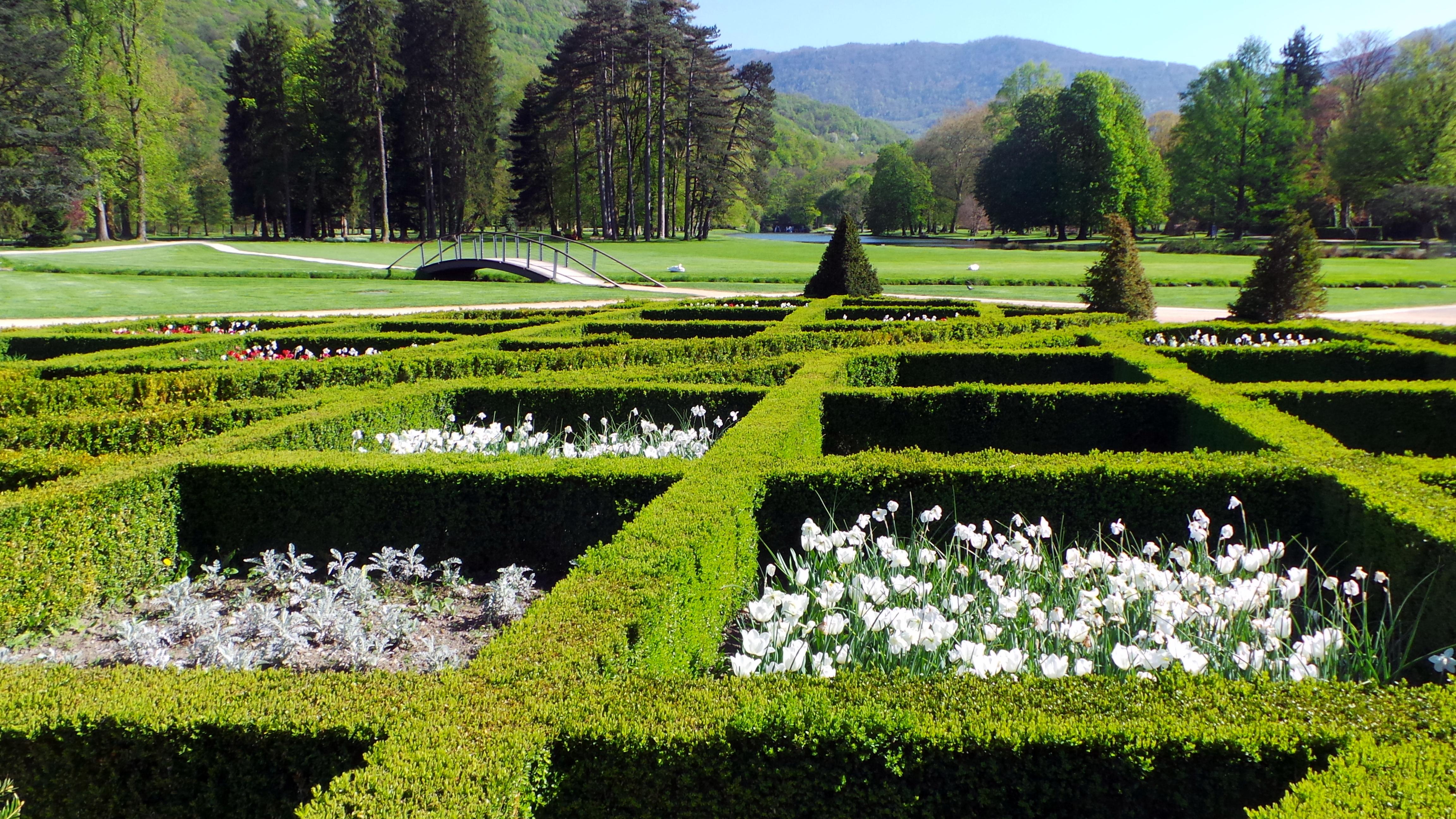 Jardin Classique À La Française le parc paysager du domaine de vizille