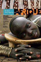 Affiche e l'exposition CE QUE NOUS DEVONS À L'AFRIQUE