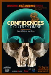 Affiche de l'exposition CONFIDENCES D'OUTRE-TOMBE