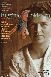 Affiche exposition EUGÉNIE GOLDSTERN
