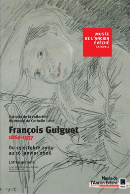 Affiche de l'exposiiton François Guiguet (1860-1937) ©