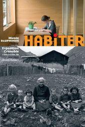 Affiche de l'exposition HABITER