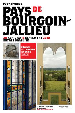Affiche de l'exposition Pays de Bourgoin-Jallieu ©