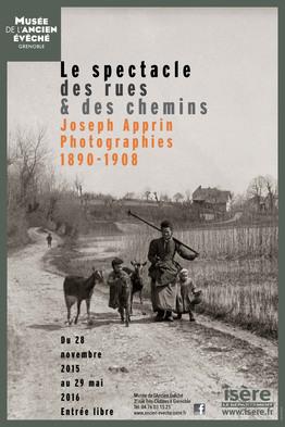 Affiche de l'exposition Joseph Apprin. Photographies 1890 - 190 ©