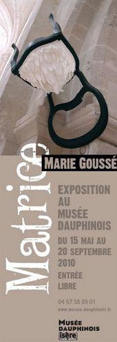 Affiche de l'exposition MATRICE