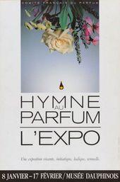 Affiche de l'exposition HYMNE AU PARFUM