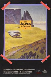 Affiche de l'exposition LES ALPES À L'AFFICHE