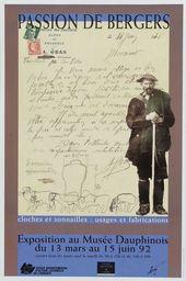 Affiche de l'expositionPASSION BERGERS, CLOCHES ET SONAILLES. USAGES ET FABRICATION