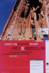 Affiche de l'exposition PATRIMOINE EN ISÈRE / PAYS DE ROUSSILLON