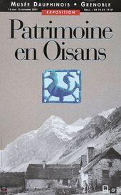 Affiche de l'exposition PATRIMOINE EN OISANS
