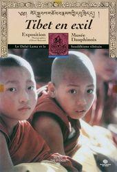 Affiche de l'exposition TIBET EN EXIL. LE DALAÏ LAMA ET LE BOUDDHISME TIBÉTAIN