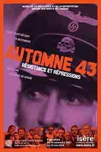 Affiche exposition Automne 1943