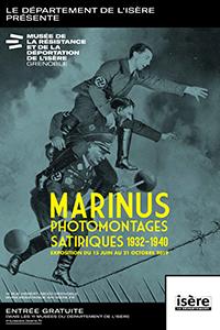 Affiche Marinus, photomontages satiriques 1932-1940