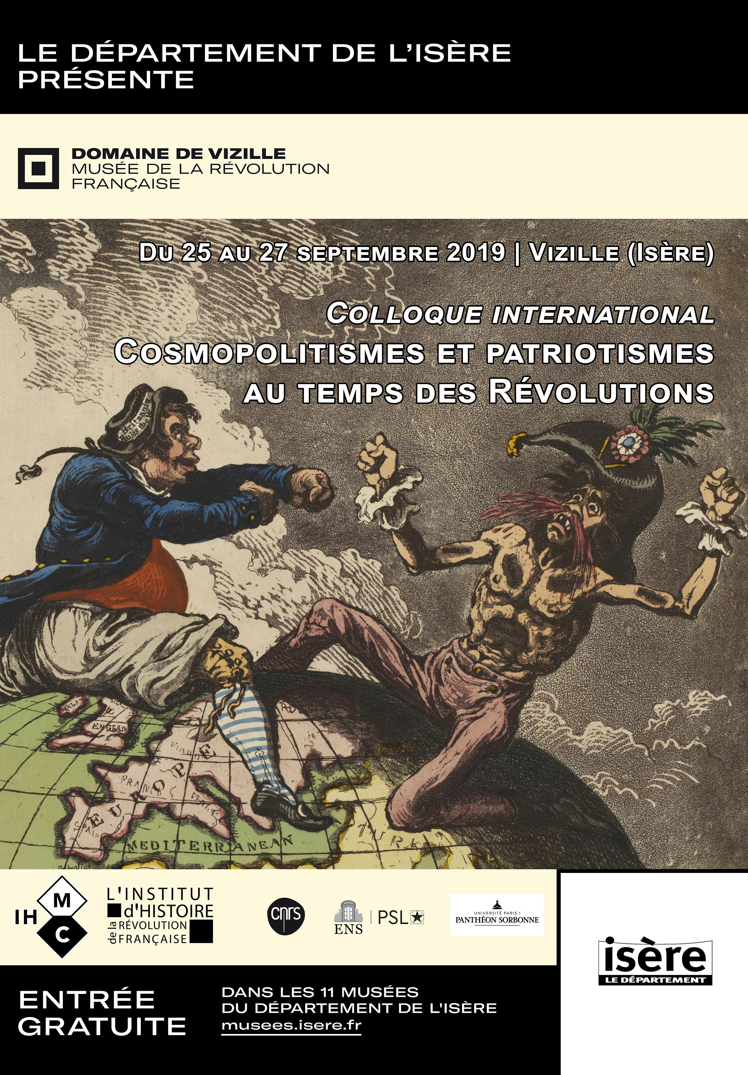 Affiche du colloque Collectionner la Révolution française