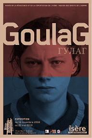 Affiche exposition Goulag