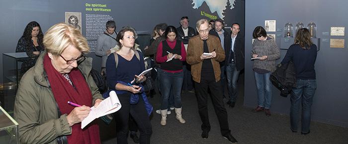 Conférence de presse au Musée dauphinois