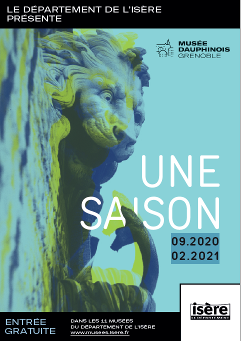 Couverture du programme de saison du Musée dauphinois