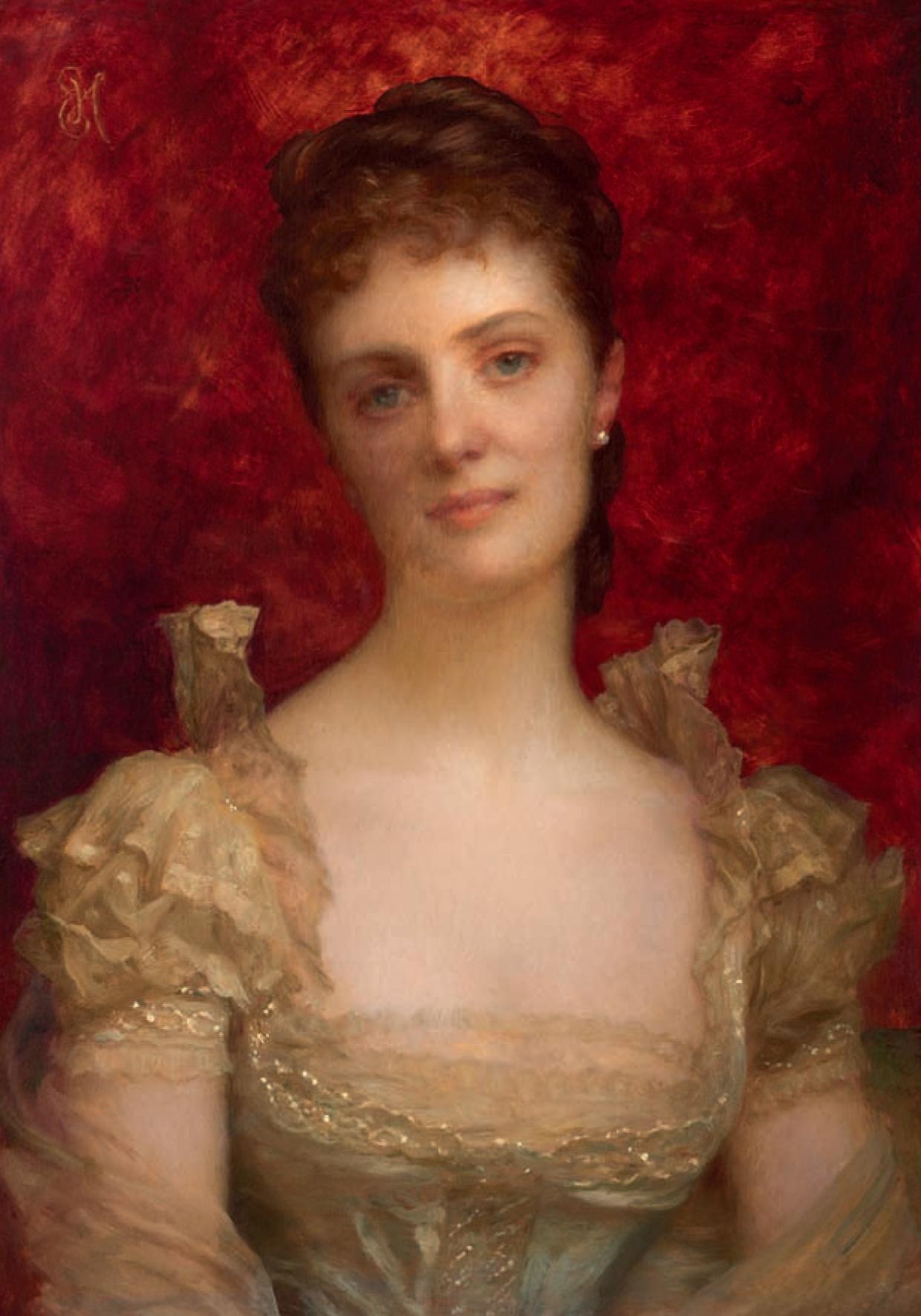 Portrait de madame C.