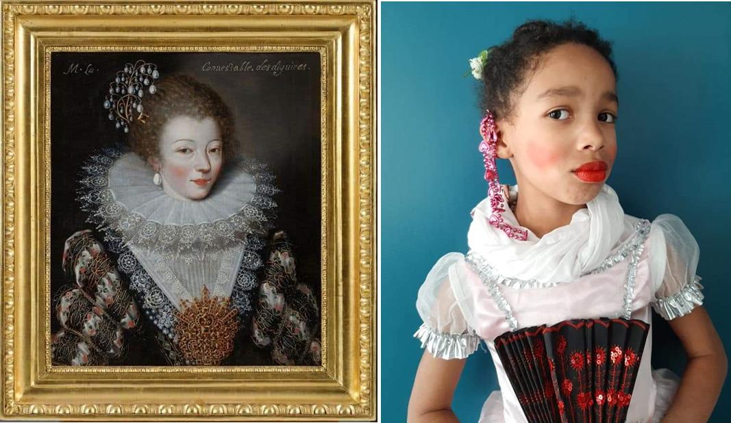 Portrait présumé de Marie Vignon, Anonyme #museeancieneveche | Oumou