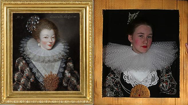 Portrait Marie Vignon / Musée de l'Ancien Evêché / challenge Tussen Kunst & quarantaine