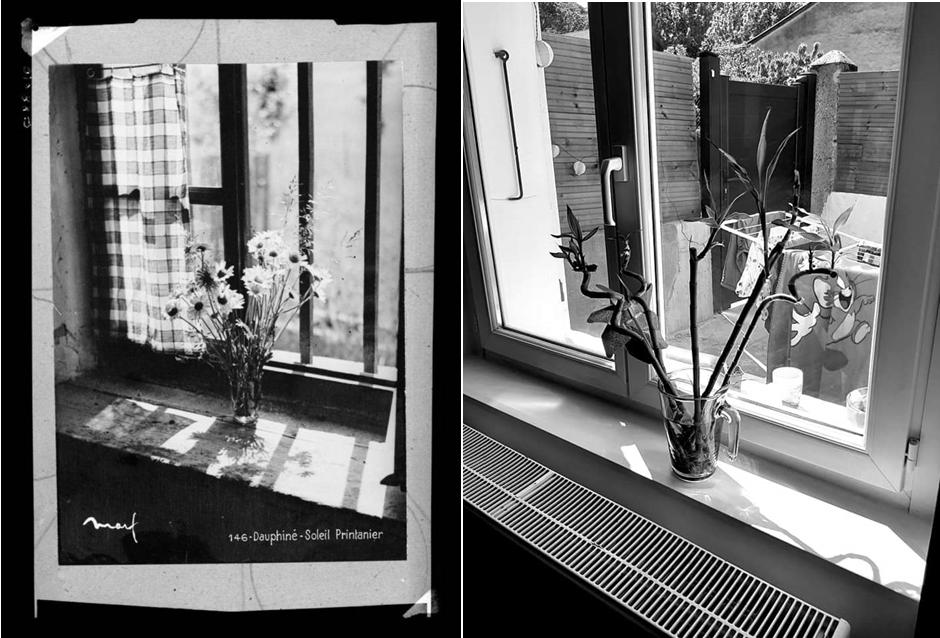PhotographieN&B Soleil printanier_Coll. Musée dauphinois / challenge Tussen Kunst & quarantaine
