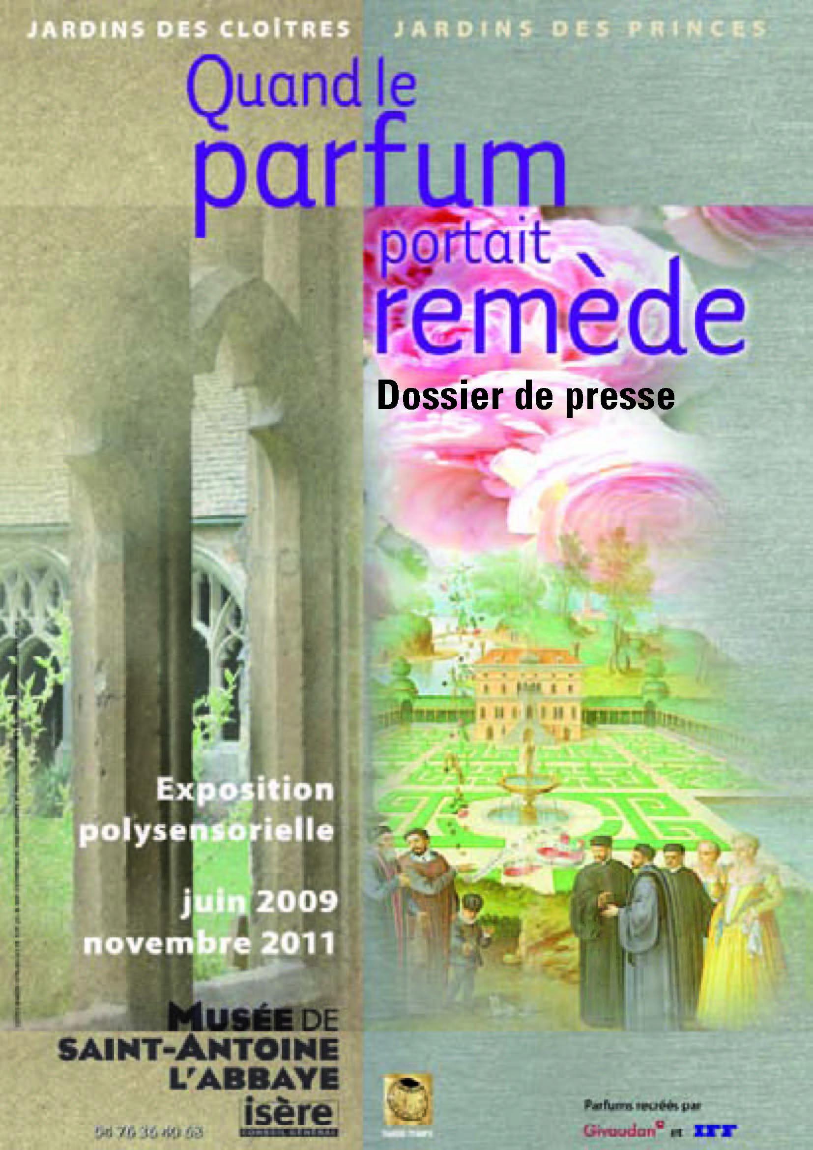 Visuel de l'exposition Parfum