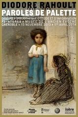 Exposition : Diodore Rahoult. Paroles de palette