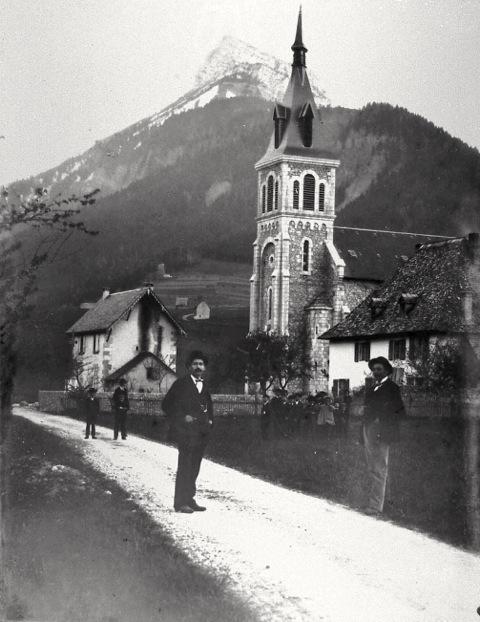 Eglise de Saint-Hugues au 19ème siècle