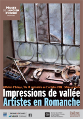 Exposition : Impressions de Vallée. Artistes en Romanche