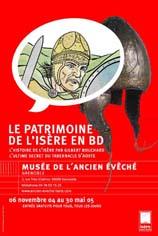 Exposition : Le patrimoine de l'Isère en BD