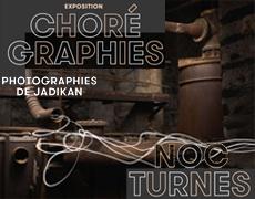 Photographie de Jadikan : light painting à l'intérieur d'un bâtiment désaffecté des Papeteries de Lancey