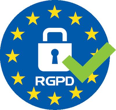 label RGPD