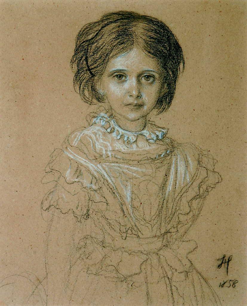 Hébert. Portrait
