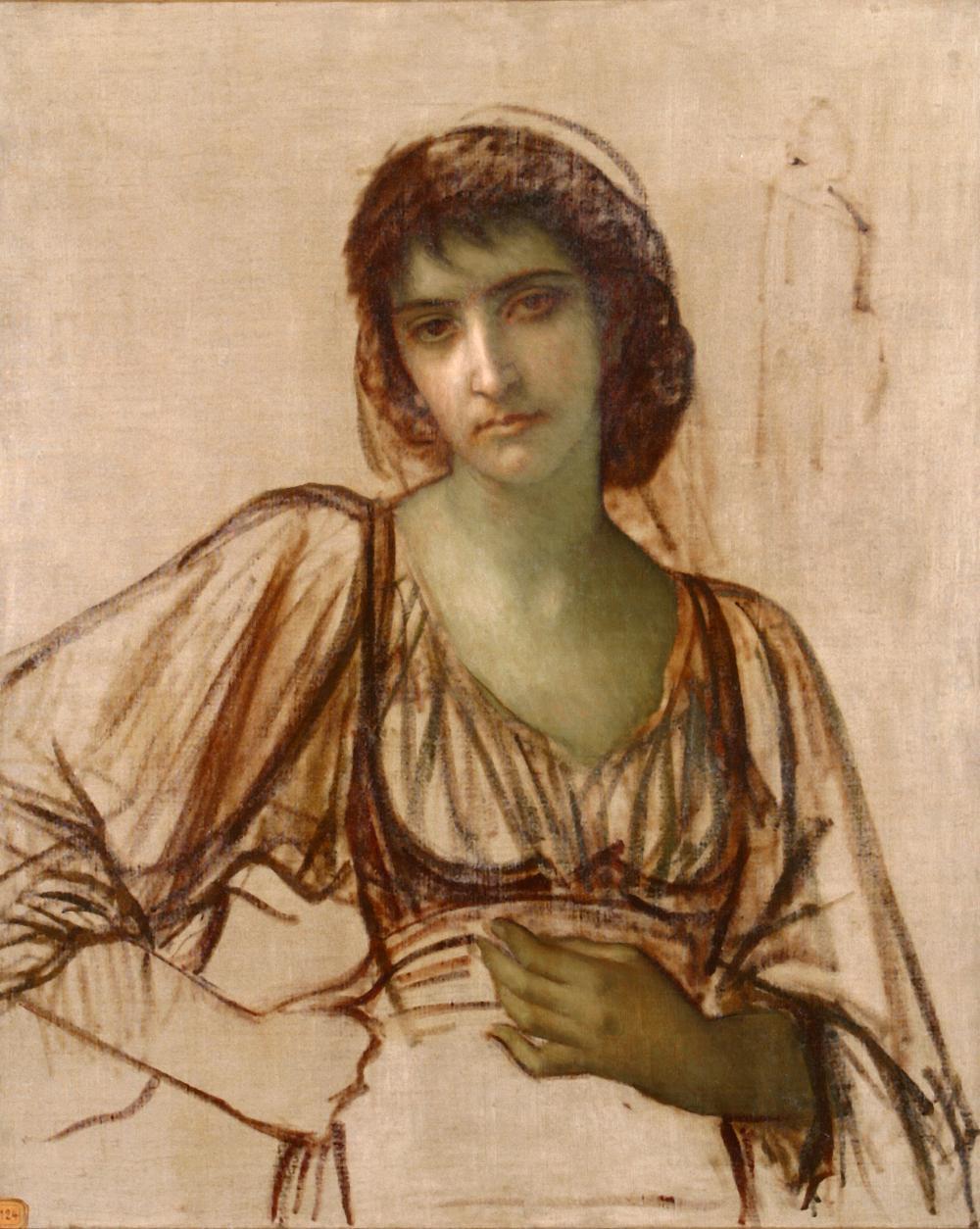 E.Hébert, Paysanne Ciociara, entre 1881 et 1886