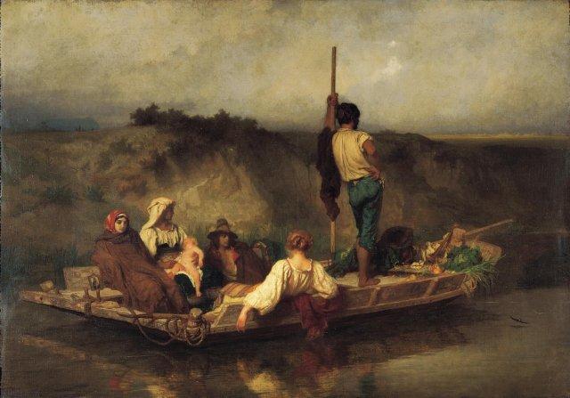 E.Hébert, La Mal'aria, 1850