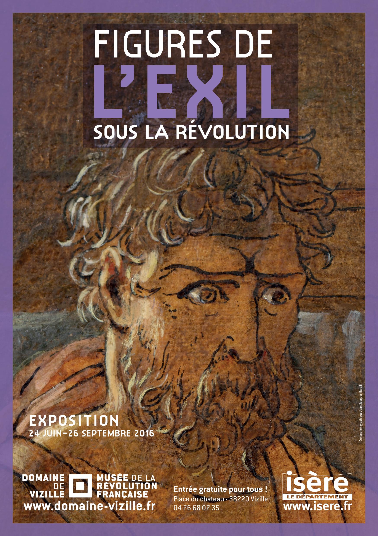 Affiche Figures de l'exil