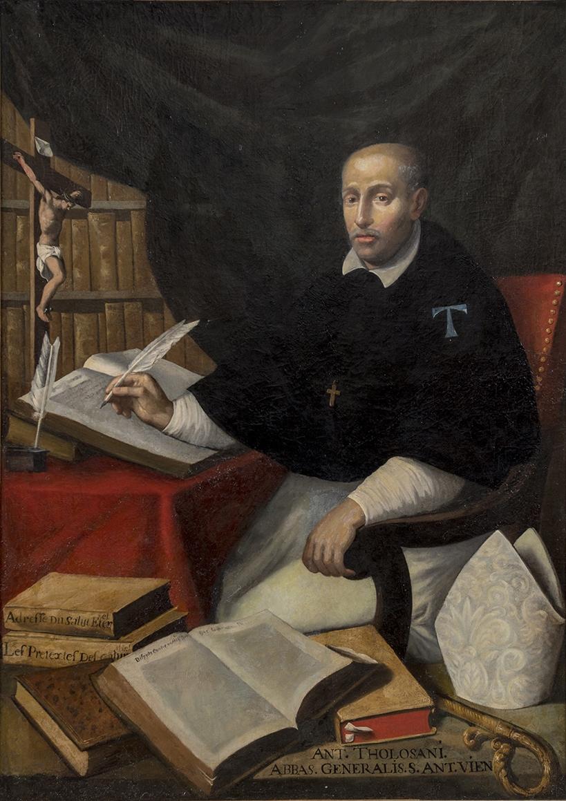 Portrait d' Antoine Tolosain