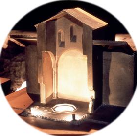 Maquette baptistère