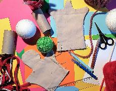 """Atelier """"Fabrication de marionnettes"""""""