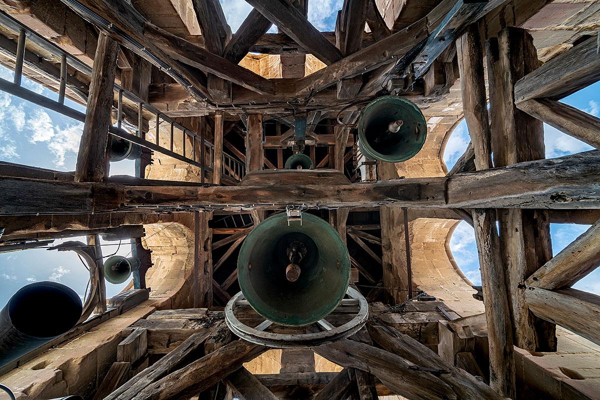 Visuel des cloches de l'église abbatiale