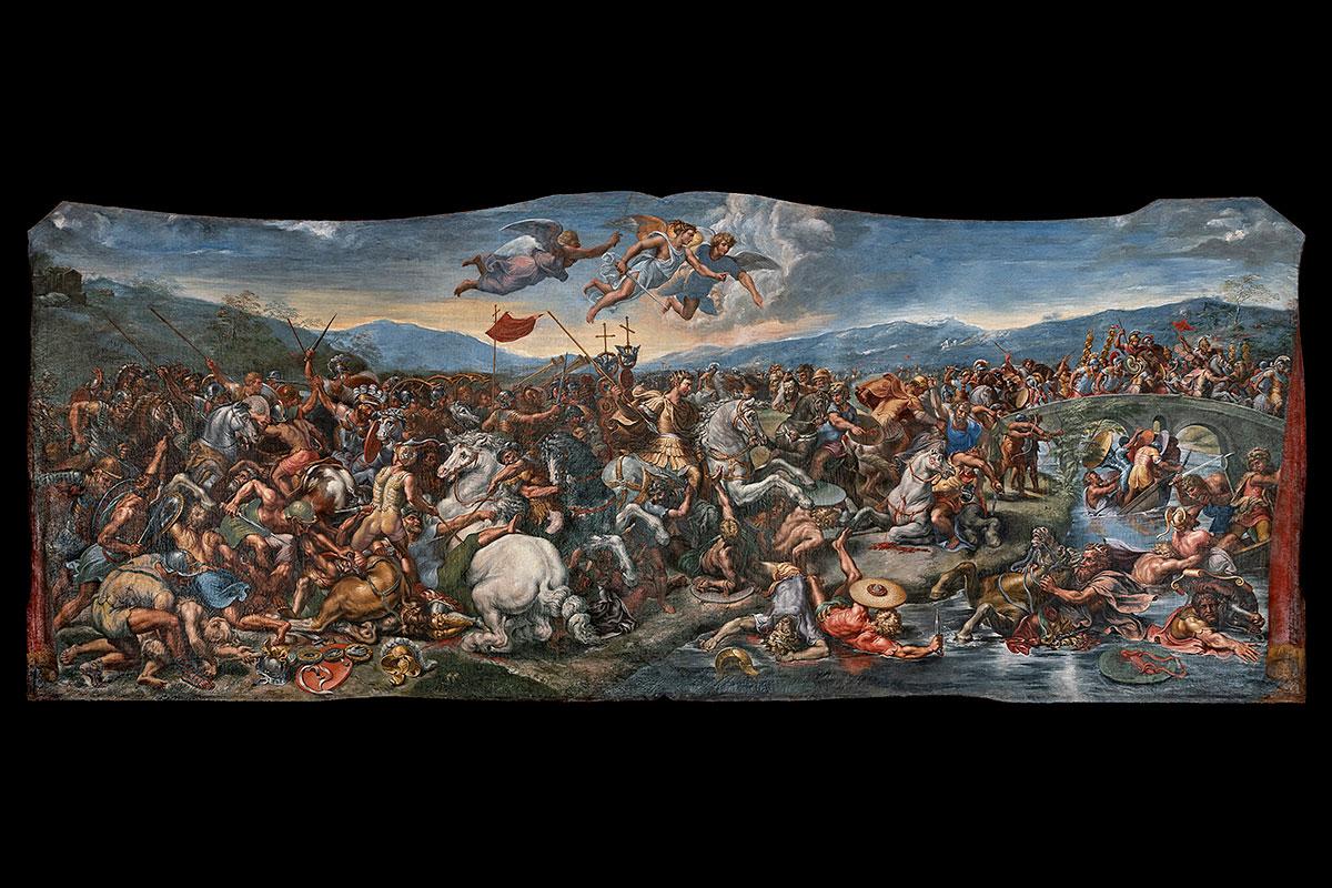 La bataille de Constantin au pont Milvius
