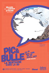 Exposition : Pic et Bulle. La montagne dans la BD