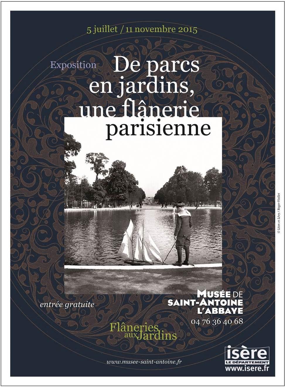 Visuel de l'exposition De parcs en jardins, une flânerie parisienne
