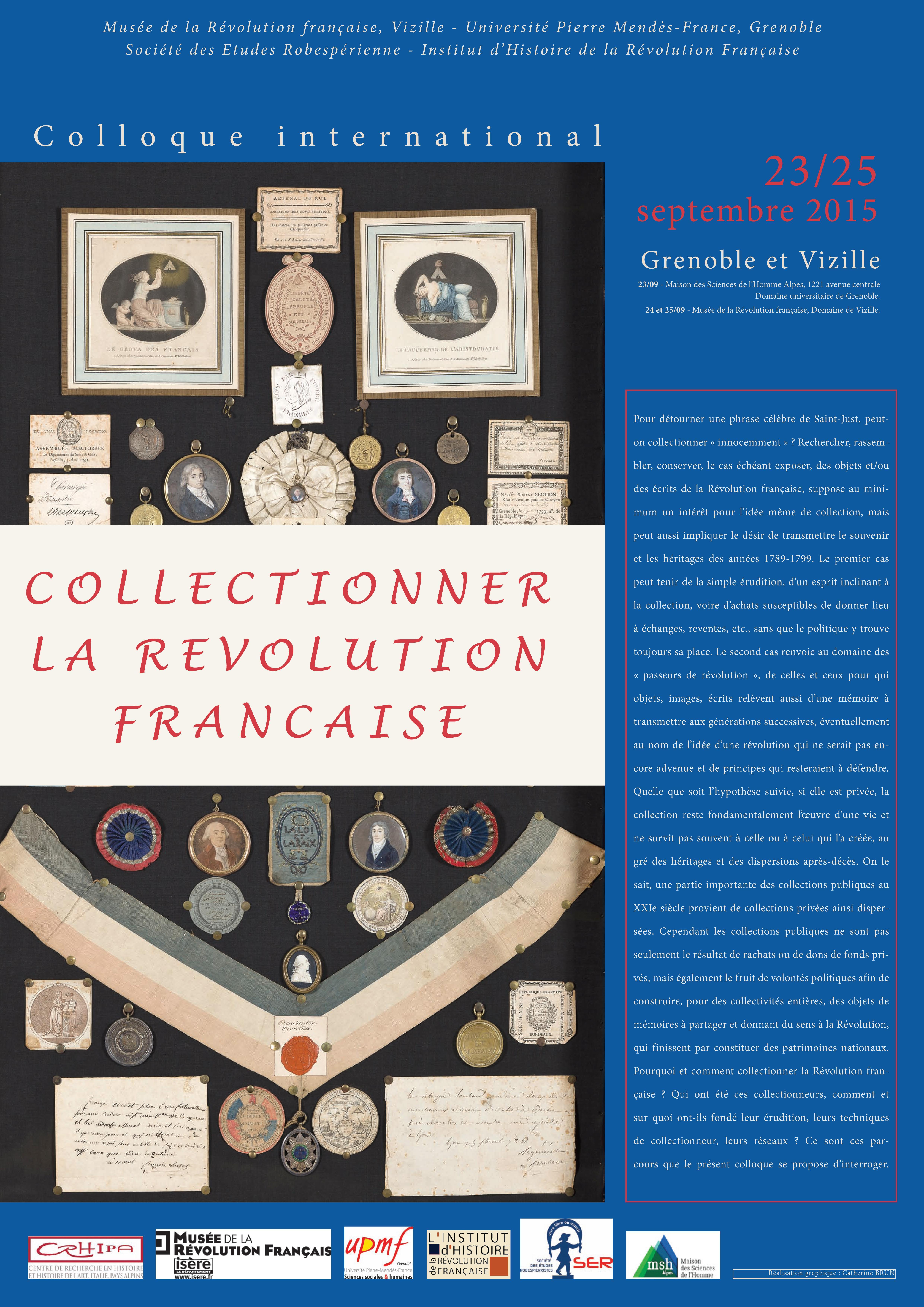 Collectionner la Révolution française © Département de l'Isère / Domaine de Vizille