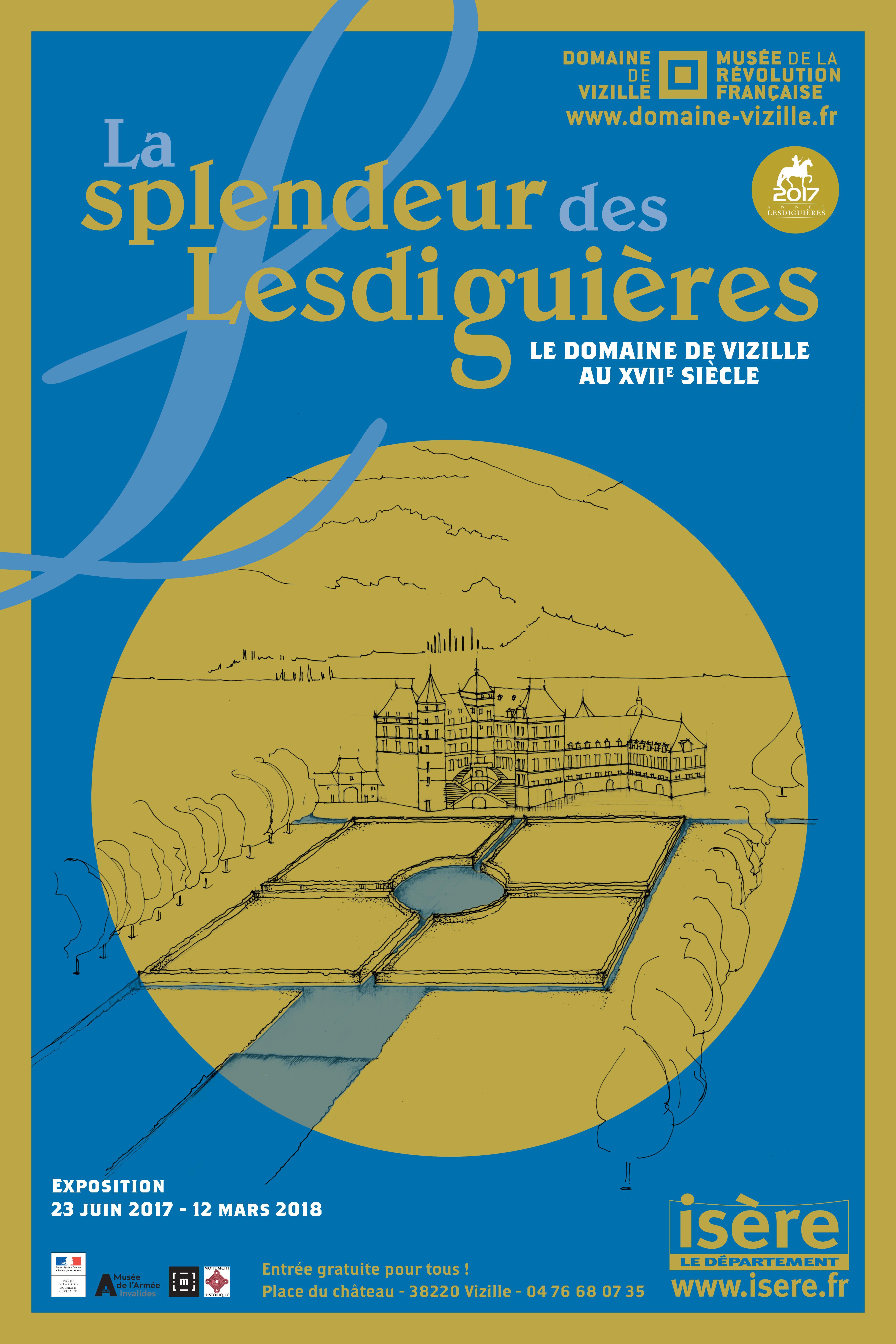 La splendeur de Lesdiguières © Département de l'Isère/Domaine de Vizille