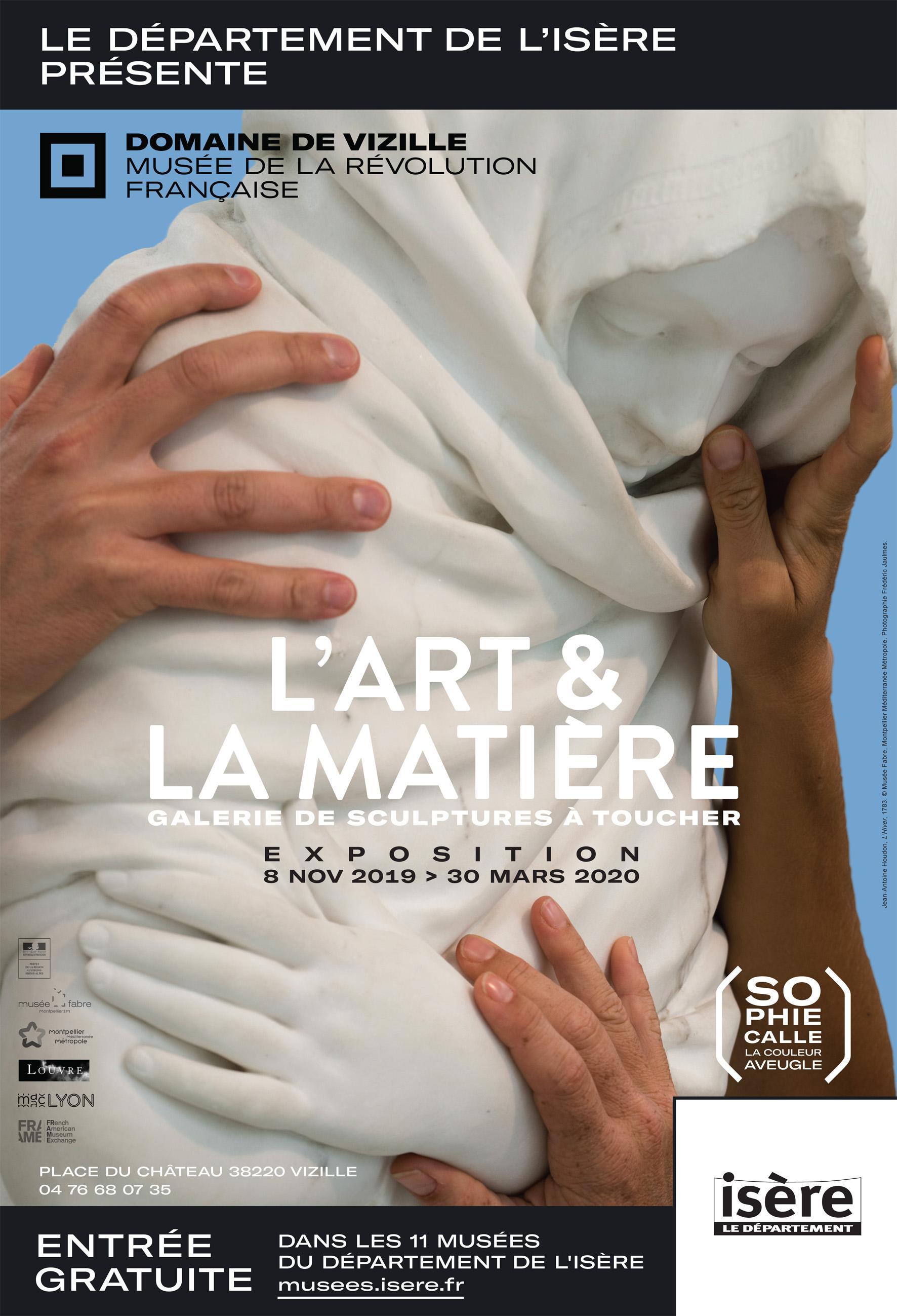 L'ART & LA MATIÈRE © Département de l'Isère / Domaine de Vizille
