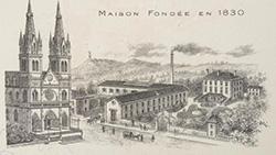 Architecture des distilleries en Isère