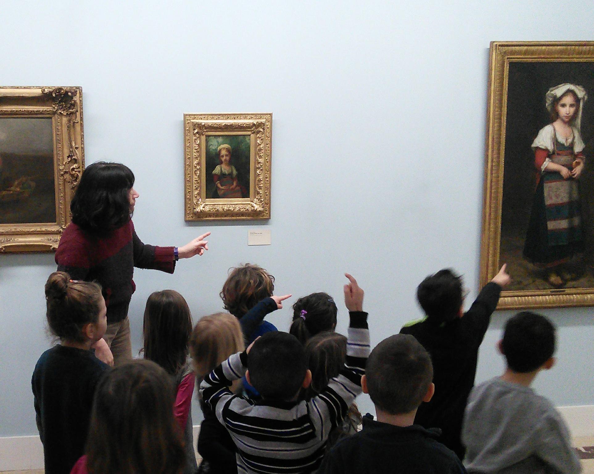 Visite guidée au musée Hébert