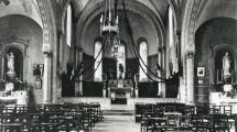 L'église de Saint-Hugues en 1950 © Collection PIROT